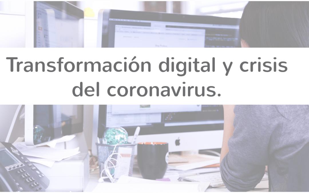 Transformación digital tras la crisis del coronavirus