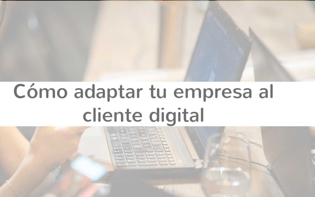 Cómo adaptar tu empresa al cliente digital