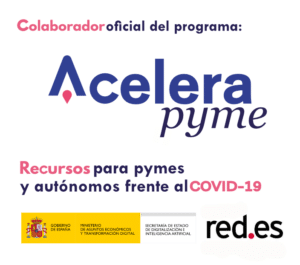 Logo oficial de Acelera Pyme