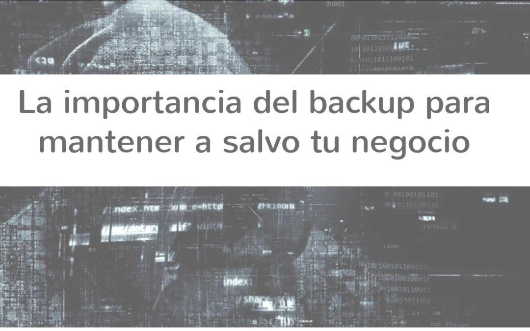 La importancia del backup para mantener tu negocio a salvo