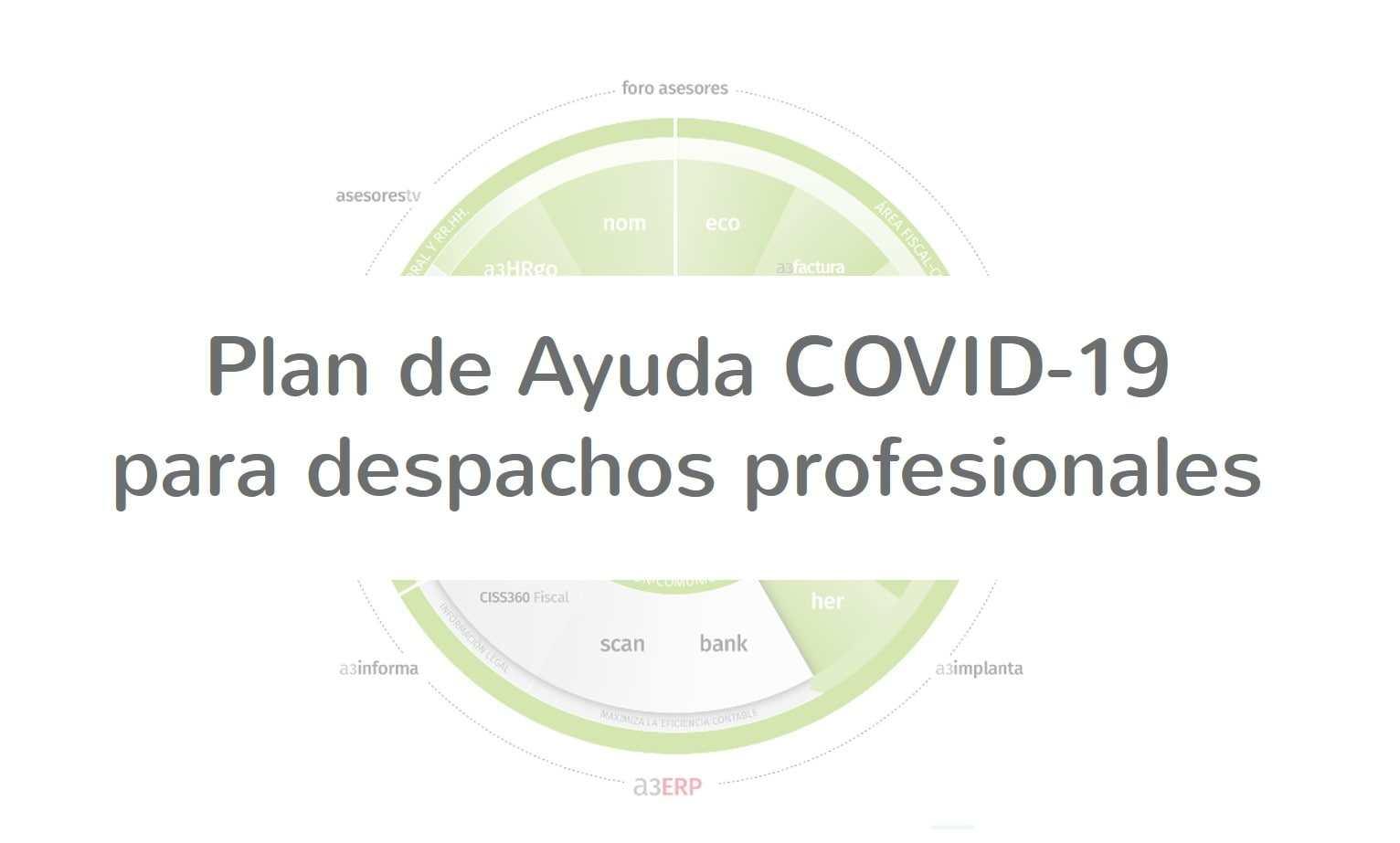 Plan de Ayuda COVID-19 para despachos profesionales