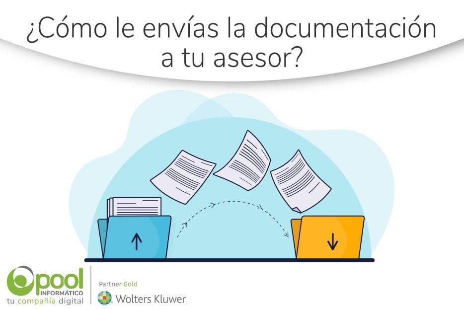 ¿Cómo le envías la documentación a tu asesor?