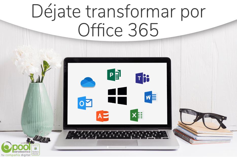 Déjate transformar por Office 365